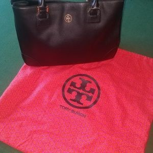 Safiano Tory Burch Large Tote